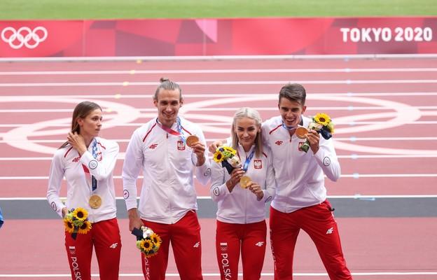 IO Tokio: Polska sztafeta mieszana odebrała złote medale