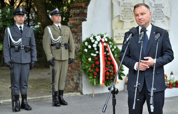 Prezydent: nie byłoby wolności bez bohaterstwa i poświęcenia powstańców warszawskich
