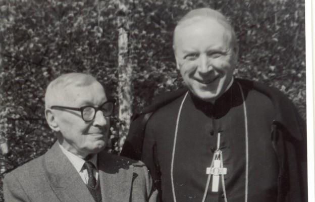 Prymas Wyszyński z Ojcem