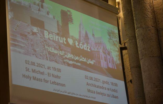 Łódź: Solidarni z Bejrutem - rocznica tragedii