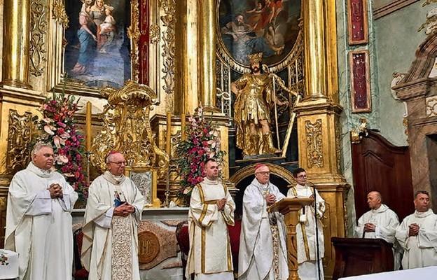 Liturgii przewodniczył biskup siedlecki Kazimierz Gurda