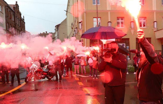 Biało-czerwone race na ulicach Wałbrzycha