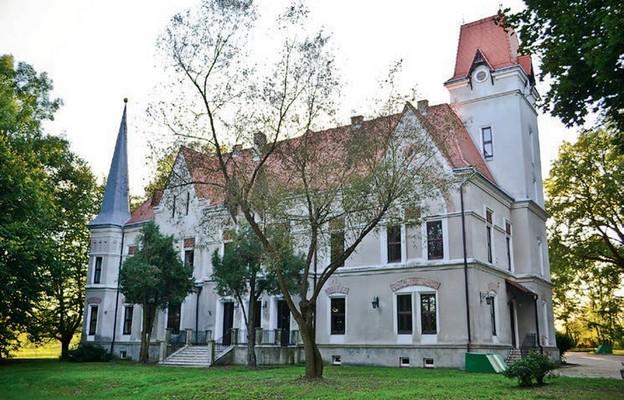 Pałac zachował swój pierwotny wygląd