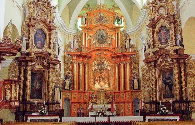 U Dominikanów w Borku Starym