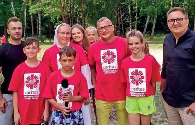 Jedną z wakacyjnych atrakcji było spotkanie z ekipą TVP3 Lublin
