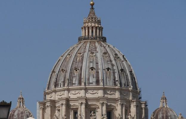 Kopuła św. Piotra – w Watykanie zakończono pierwszy etap renowacji stulecia