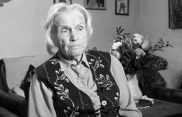 Zmarła Alina Dąbrowska – była więźniarka pięciu obozów koncentracyjnych