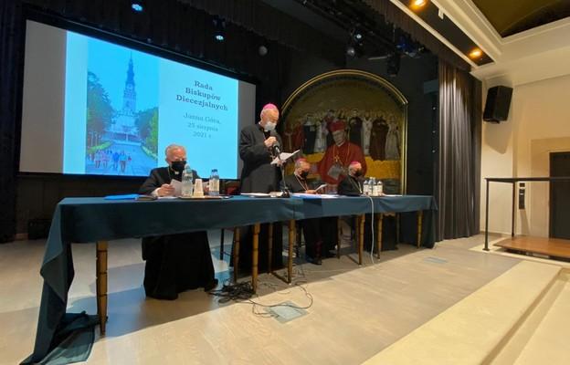 Jasna Góra: rozpoczęło się spotkanie Rady Biskupów Diecezjalnych