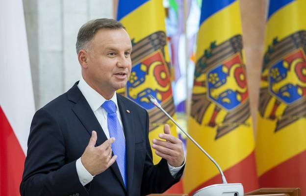 Prezydent RP Andrzej Duda w Mołdawii