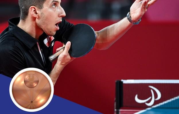 Paraolimpiada - trzy brązowe medale i dwa finały Polaków w tenisie stołowym