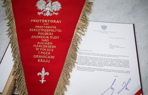 Prezydent pogratulował ZHP tytułu gospodarza Światowego Jamboree Skautowego w 2027 roku