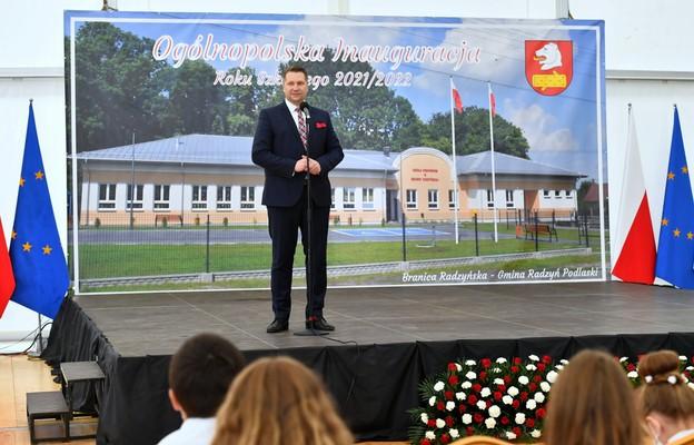 Czarnek: nauczyciel dla ucznia, a nie dla biurokracji