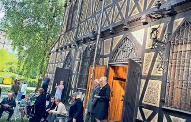 Wałbrzyski kościół dostrzeżony przez filmowców