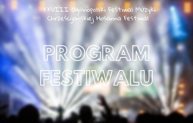 XVIII Ogólnopolskie Festiwal Muzyki Chrześcijańskiej Hosanna