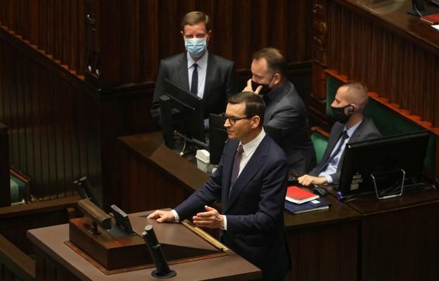 Morawiecki: nie pozwolimy na naruszenie integralności państwa polskiego i suwerenności granic