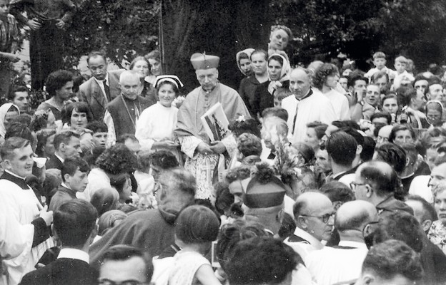 Prymas Tysiąclecia 15 sierpnia 1959 r. odwiedził Bardo