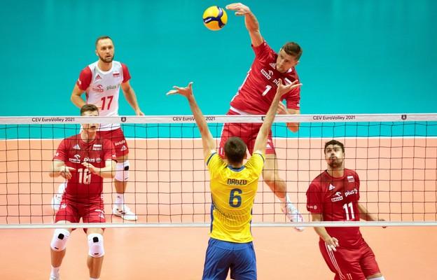 Polscy siatkarze wygrali z Ukraińcami