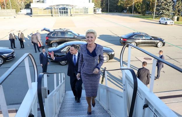 Para prezydencka przybyła na Węgry
