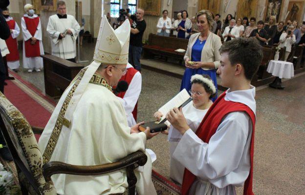 Uroczystości konsekracji przewodniczył pasterz diecezji bp Tadeusz Lityński