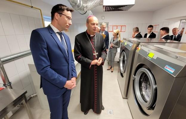 Sosnowiec: Caritas otworzyła pralnię społeczną