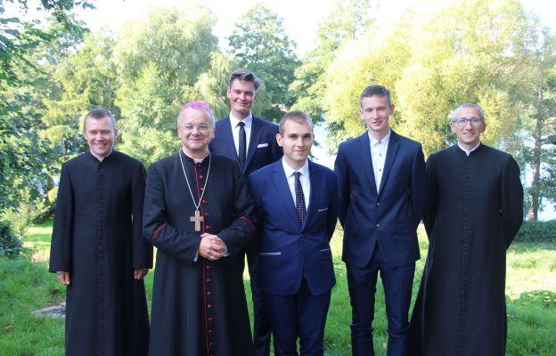 Lubniewice. Biskup spotkał się z kandydatami do seminarium