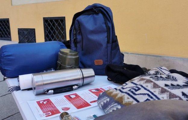 Przykładowa zawartość plecaka