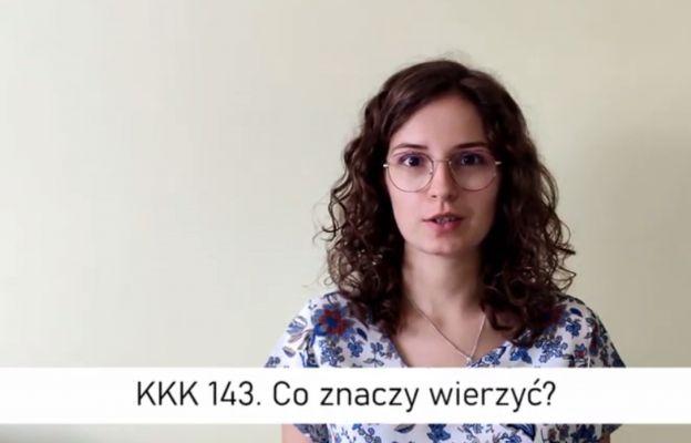 Roksana Kubica tłumaczy, czym jest wiara.