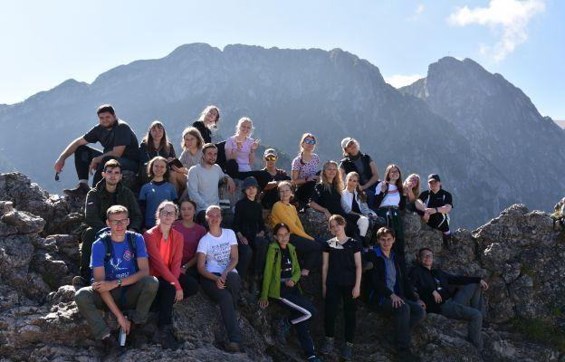 Górskie wędrówki były stałym punktem obozowego programu