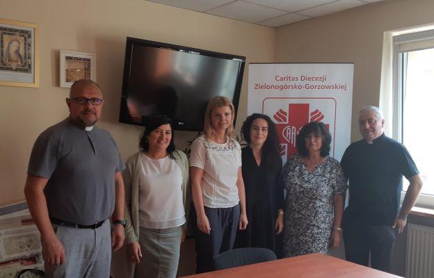 Dyrektor Caritas Polska odwiedził naszą diecezję