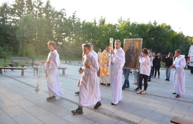 Symbole ŚDM gościły w Kielcach
