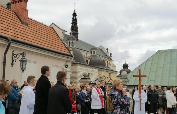 Pielgrzymka duchowieństwa i wiernych arch. wrocławskiej