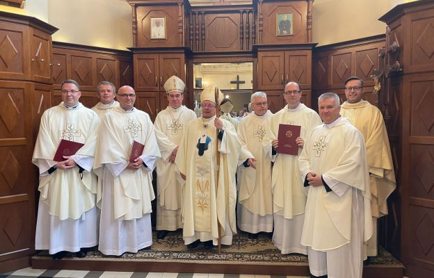 Święcenia kapłańskie w Seminarium 35+