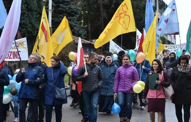 W Marszu wzięły udział całe rodziny