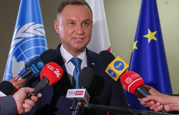 ONZ: Prezydent Duda oskarżył Białoruś o atak hybrydowy i podał w wątpliwość solidarność globalnej Północy