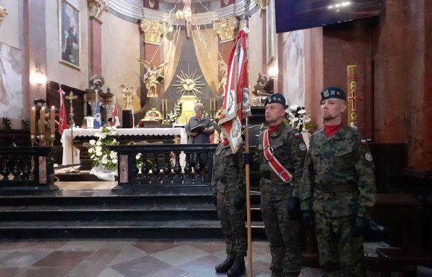 Modlitwa za poległych w obronie ojczyzny.