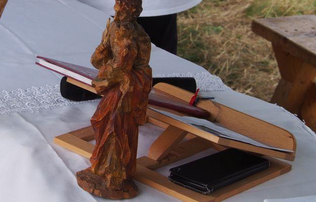 Rzeźba św. Józefa.