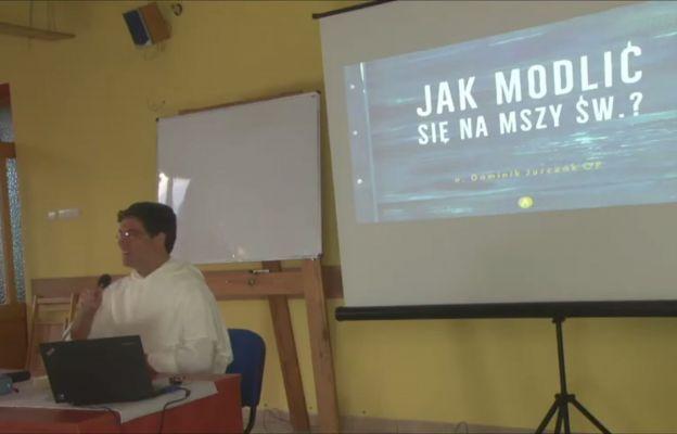 Wykłady o. Jurczaka można było śledzić online.