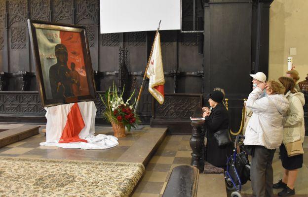 Obraz Matki Bożej Robotników Solidarności w diecezji toruńskiej