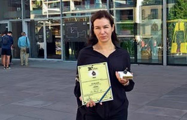 Nagroda dla dziennikarki