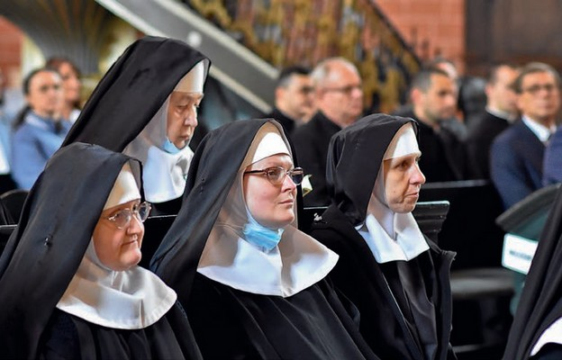 Radość wśród benedyktynek