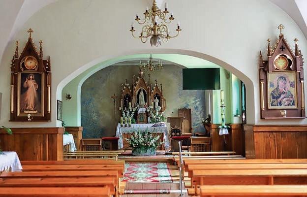 Kaplicę hrabiny przeobrażono w kościół