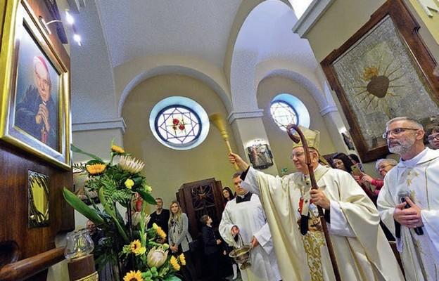 Jubileuszowym darem parafii jest miejsce pamięci i modlitwy poświęcone bł. kard. Stefanowi Wyszyńskiemu