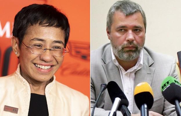 Dziennikarze Maria Ressa i Dmitrij Muratow laureatami Pokojowej Nagrody Nobla 2021
