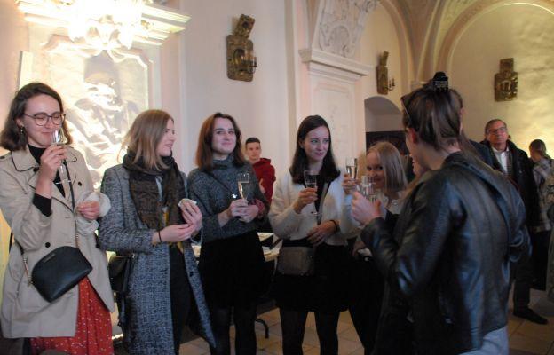 Podczas jubileuszu wzniesiono także toast za D.A. Dominik