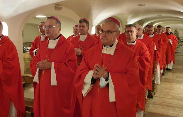 Mszą św. u grobu św. Piotra Apostoła, druga grupa biskupów z Polski rozpoczęła swoją wizytę ad limina.