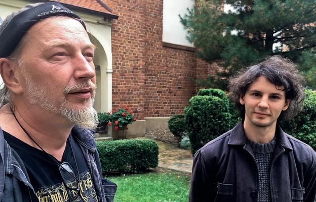 Andrzej Ptak (po lewej), Wojciech Skibicki (po prawej)