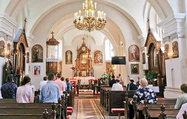 Wyremontowali sobie kościół