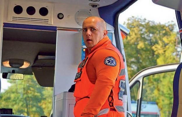 Zawód ratownika medycznego jest powołaniem – podkreśla pan Marcin