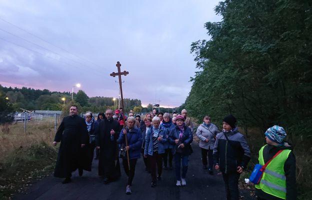13 października wierni po raz ostatni w tym roku pielgrzymowali z Czerwieńska do Łężycy