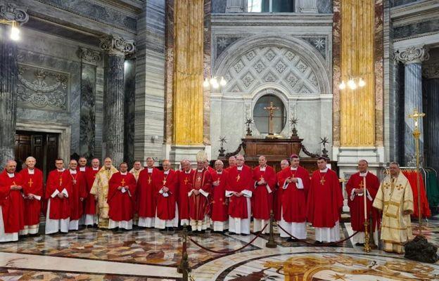 Łódzcy biskupi rozpoczęli wizytę ad limina apostolorum